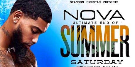 NOVA END OF SUMMER EVENT tickets
