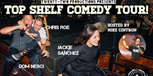 Top Shelf Comedy Tour at Backstage Cafe