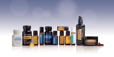 Come experience doTERRA's 13 new oils and products!