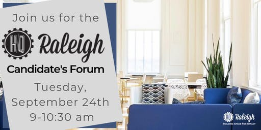 HQ Raleigh Candidates Forum