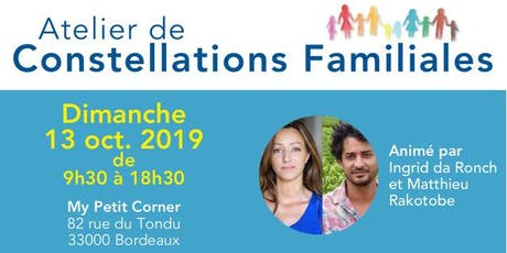 Atelier de Constellations Familiales billets