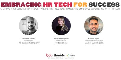 Embracing HR Tech for Success (Stockholm Meet-up)