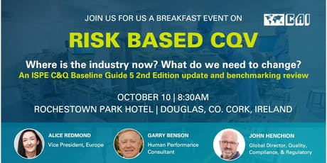 CAI Breakfast Event - Risk Based CQV tickets