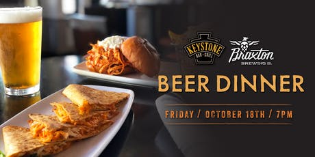 Keystone & Braxton Beer Dinner tickets