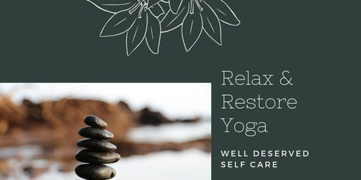 Relax and Restore Yoga Class for Folks of Color
