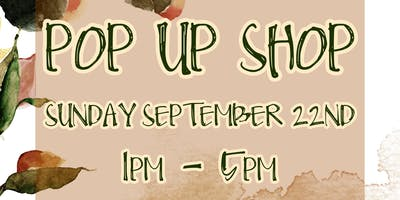 Hand Craft Pop Up Shop