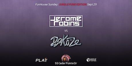 FunHouse Sunday: Jungle Funk w/ Jerome Robins & Deko-Ze tickets