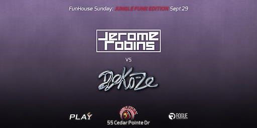 FunHouse Sunday: Jungle Funk w/ Jerome Robins & Deko-Ze