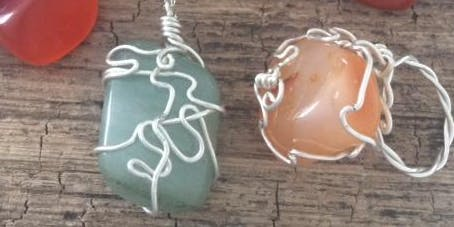 Jewellery & Silversmithing Workshop: Stone Wire Wrapping Workshop