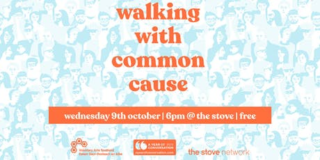 Walking with Common Cause tickets