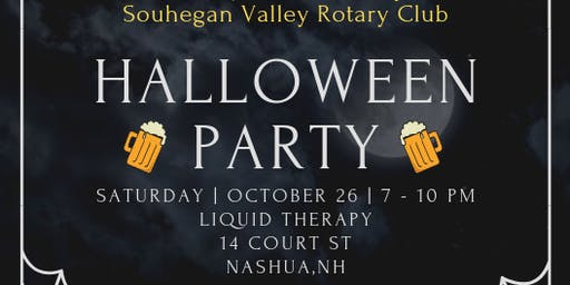 2019 Souhegan Valley Rotary Halloween Party