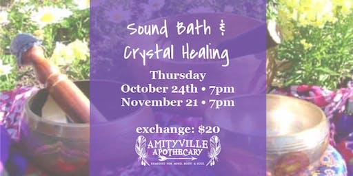 Community Sound Bath & Crystal Healing