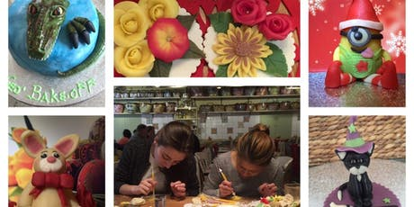 Learn to make  flowers from Fondant, Marzipan and Gumpaste tickets