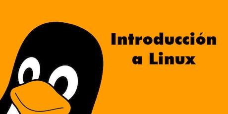 Curso de Introducción a Linux tickets