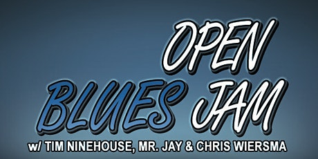 Blues Open Jam tickets