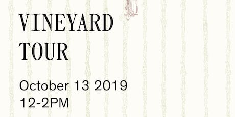 Vineyard Tour and Tasting at RG|NY-October tickets