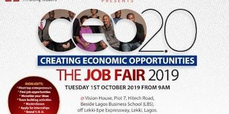 Creating Economic Opportunities (C.E.O -2.0) The Job Fair 2019 tickets