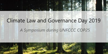 Climate Law and Governance Day 2019 tickets