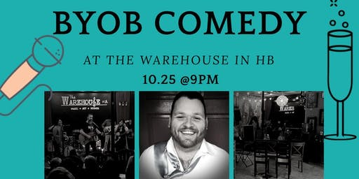 COMEDY @THE WAREHOUSE
