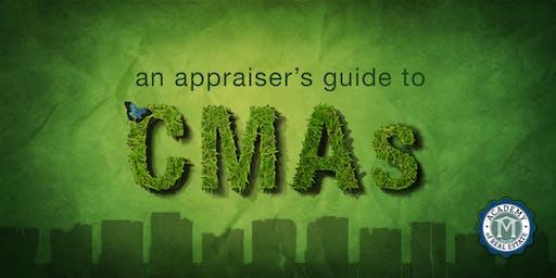 """FREE CE by D.S. Murphy - """"An Appraiser's Guide to CMAs"""" - Auburn, GA - Thursday 12/5/19"""