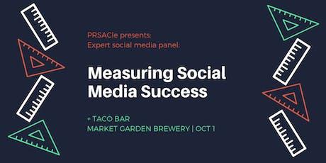 Social Media Panel: Measuring Successful Programs tickets