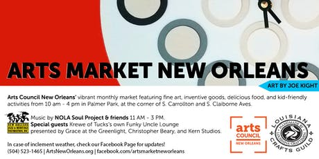 Arts Market New Orleans tickets
