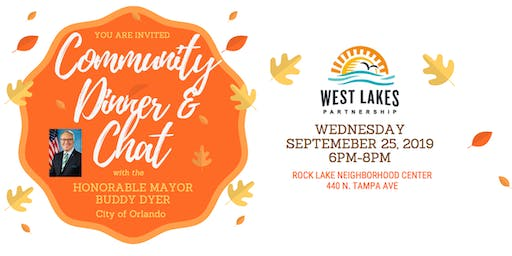 West Lakes Community Dinner with Mayor Buddy Dyer
