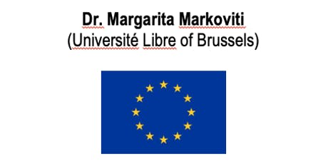 Manchester JMCE Seminar-Dr Margarita Markoviti (Université Libre,Brussels) tickets