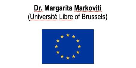 Manchester JMCE Seminar-Dr Margarita Markoviti (Université Libre,Brussels)