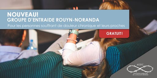 AQDC : Groupe d'entraide Rouyn-Noranda - 7 octobre 2019