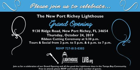 The New Port Richey Lighthouse Grand Opening tickets
