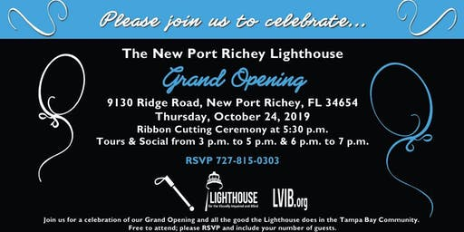 The New Port Richey Lighthouse Grand Opening