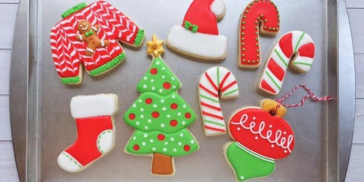 Christmas in October Beginner Cookie Class - Spring Hill