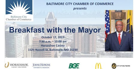 2019 Baltimore City Chamber's Breakfast With The Mayor tickets