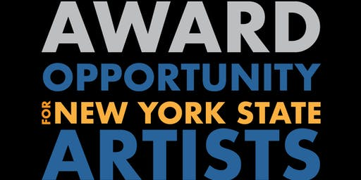 NYSCA/NYFA Artist Fellowship Application Seminar
