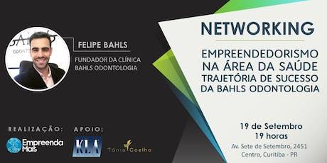 EMPREENDEDORISMO NA ÁREA DA SAÚDE - NETWORKING E BATE-PAPO ingressos