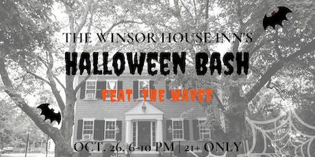 Winsor House Inn's Halloween Bash 2019 featuring the Waves tickets