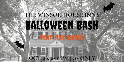Winsor House Inn's Halloween Bash 2019 featuring the Waves