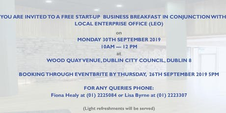 FREE Start Up Business Breakfast Event tickets