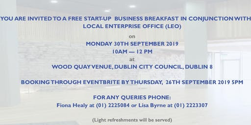 FREE Start Up Business Breakfast Event
