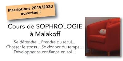Cours de sophrologie en groupe à Malakoff