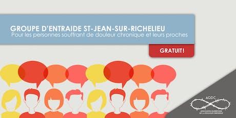 AQDC : Groupe d'entraide St-Jean-sur-Richelieu - 8 octobre 2019 billets