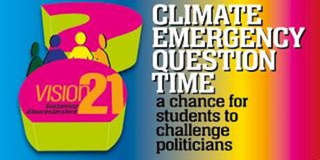 Climate Emergency 'Question Time' for students to challenge politicians tickets