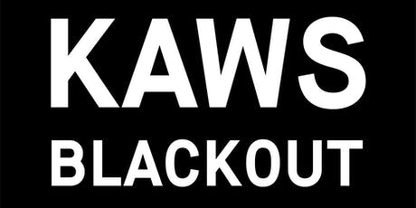 KAWS - BLACKOUT - Skarstedt Gallery London tickets