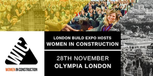 Women in Construction Exclusive Panel Discussion & Networking Event | London Build 2019