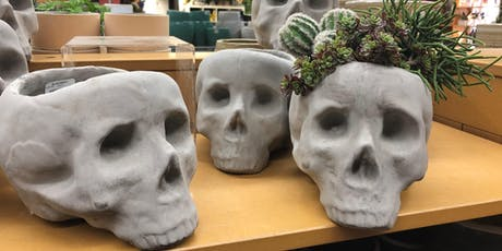 Skull Planter Workshop tickets