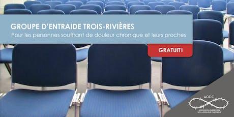 AQDC : Groupe d'entraide Trois-Rivières - 8 octobre 2019 billets