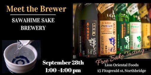 Meet The Brewer - Sawahime Sake Brewery
