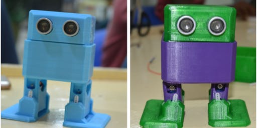 Makers Mania - Ottobot (Building Little Humanoid Robot)