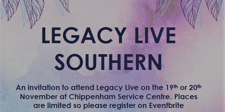 Legacy Live 19th/20th November 2019 tickets